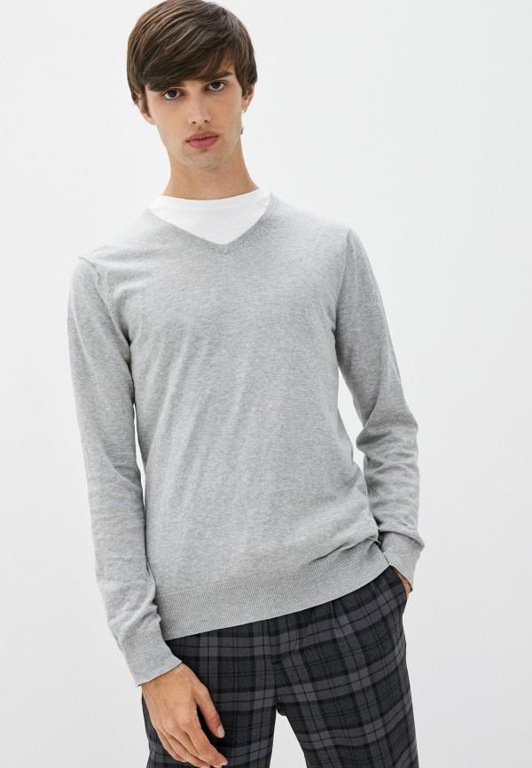 мужской пуловер scotch&soda, серый