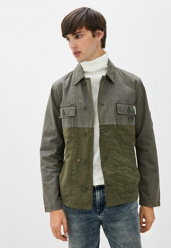 мужская куртка scotch&soda, хаки