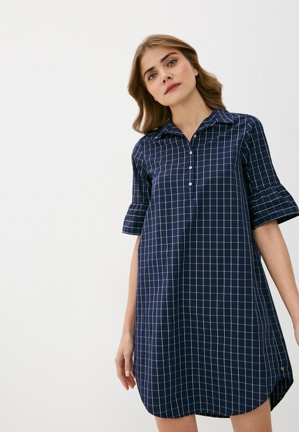 женское платье scotch&soda, синее