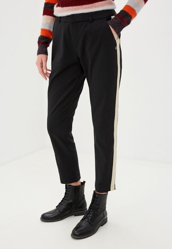 женские повседневные брюки scotch&soda, черные