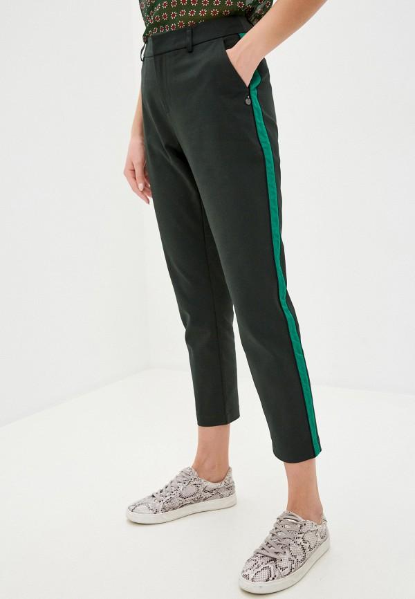 женские повседневные брюки scotch&soda, зеленые
