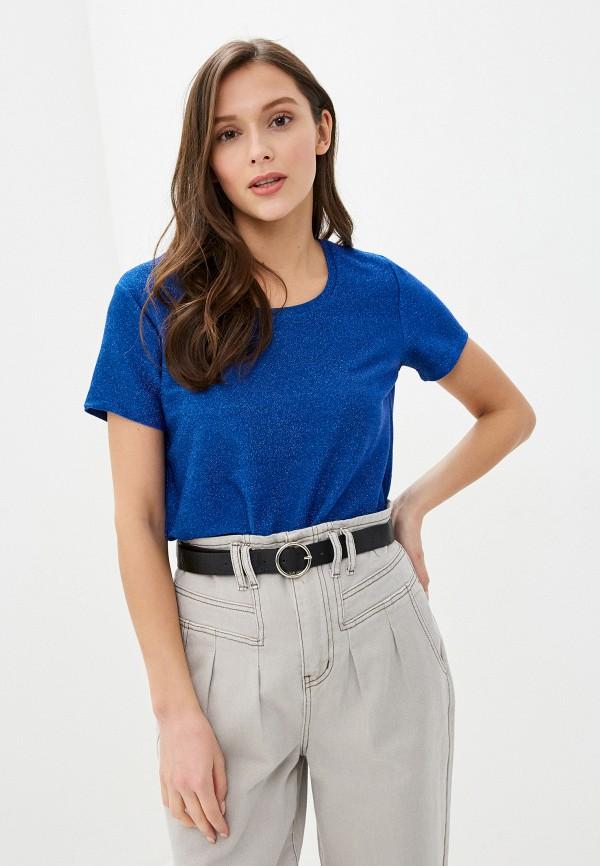женская футболка scotch&soda, синяя