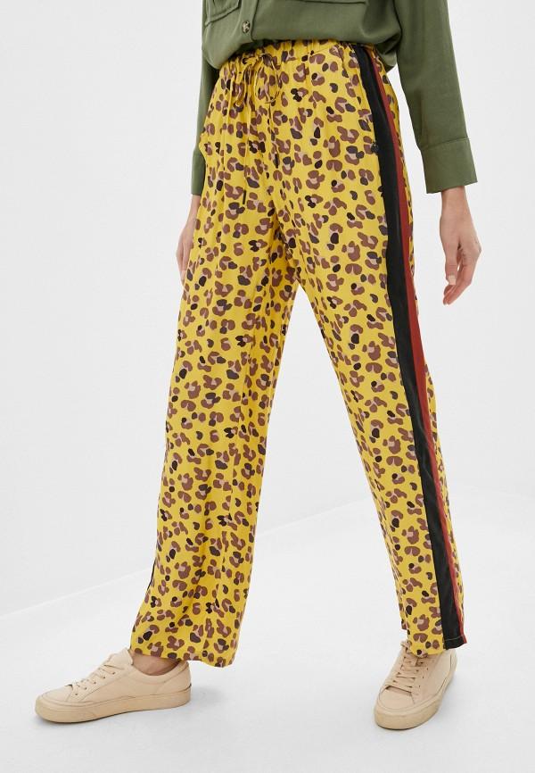 женские брюки scotch&soda, желтые