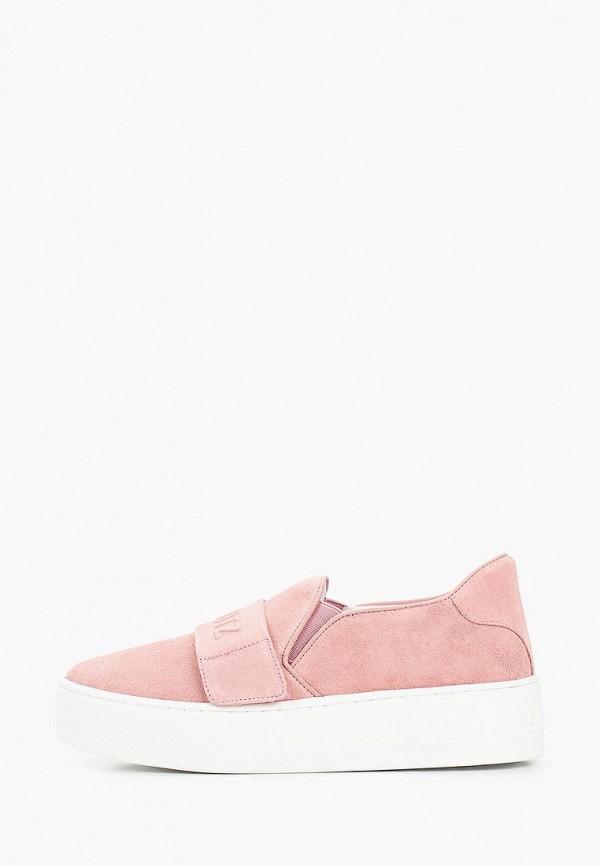 женские слипоны schutz, розовые