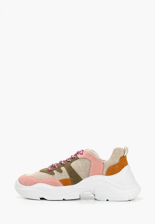 женские кроссовки schutz, розовые
