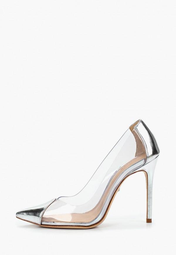 женские туфли schutz, серебряные