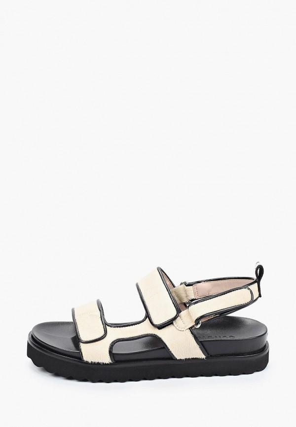 женские сандалии schutz, бежевые