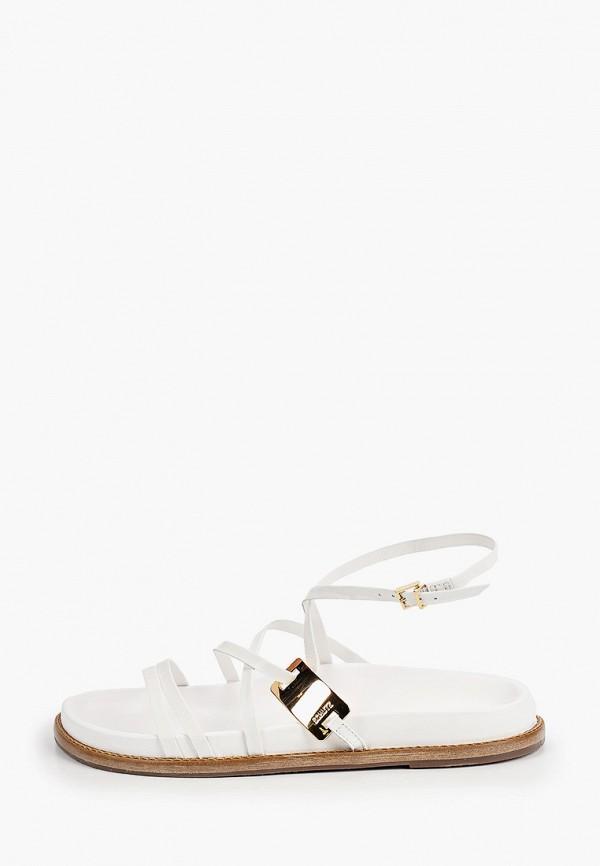 женские сандалии schutz, белые