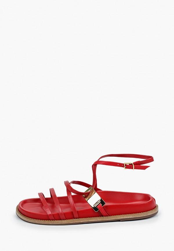 женские сандалии schutz, красные