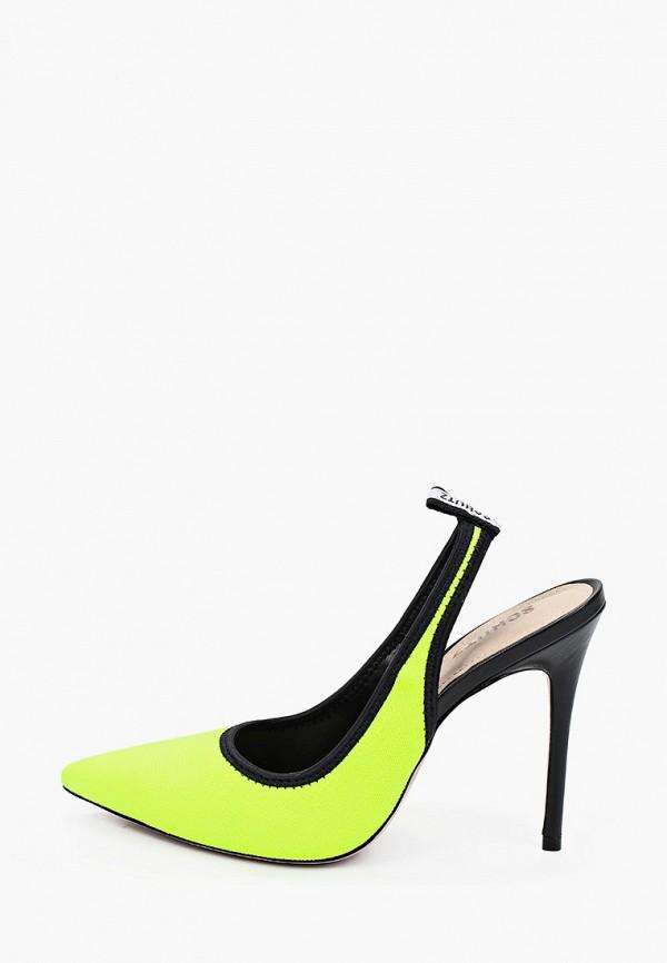 женские туфли schutz, желтые