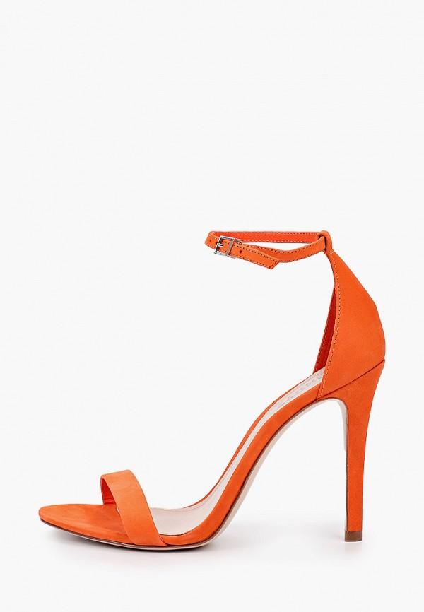 женские босоножки schutz, оранжевые