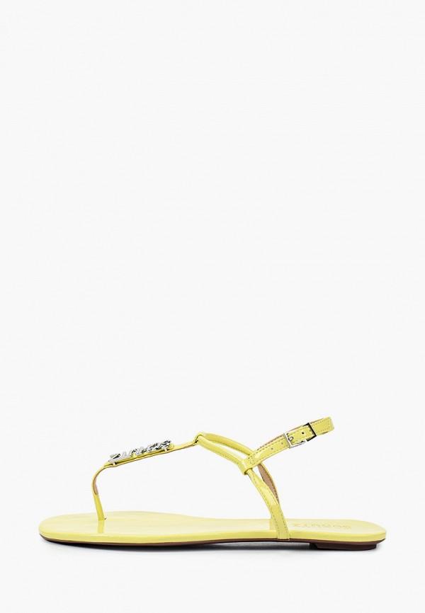 женские сандалии schutz, желтые