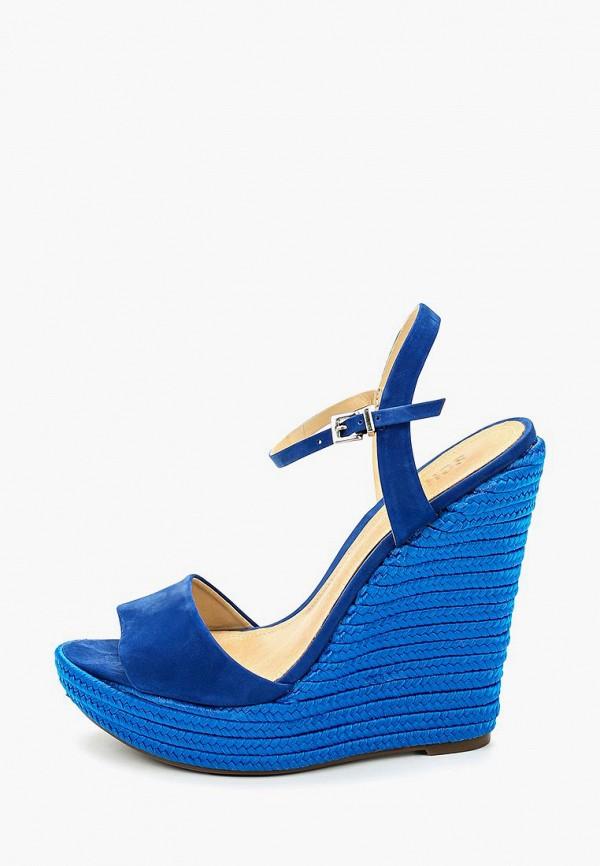 женские босоножки schutz, синие