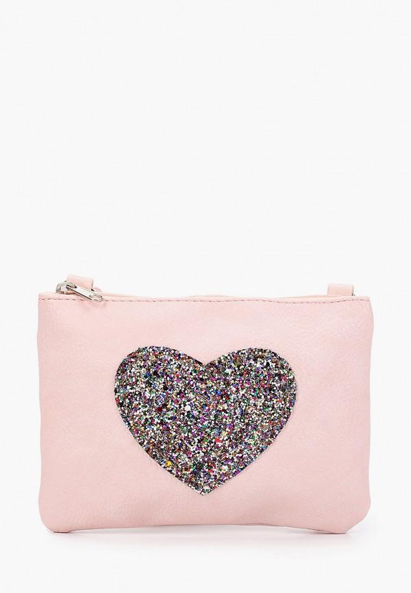 сумка sela для девочки, розовая
