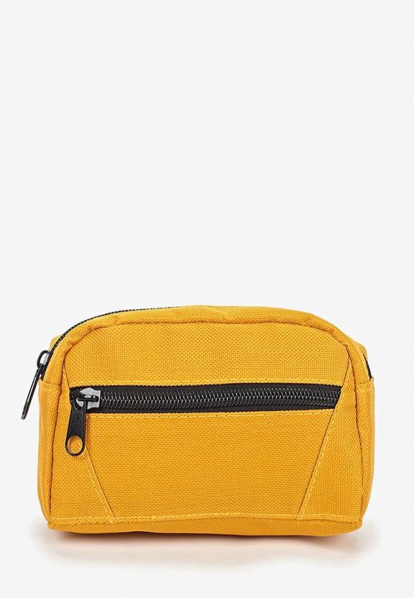 мужская сумка sela, желтая