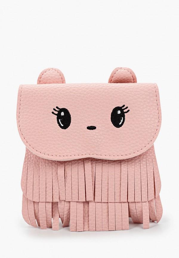 женская сумка sela, розовая
