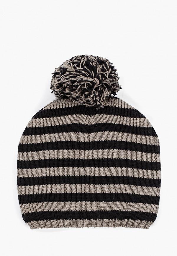 шапка sela для мальчика, серая