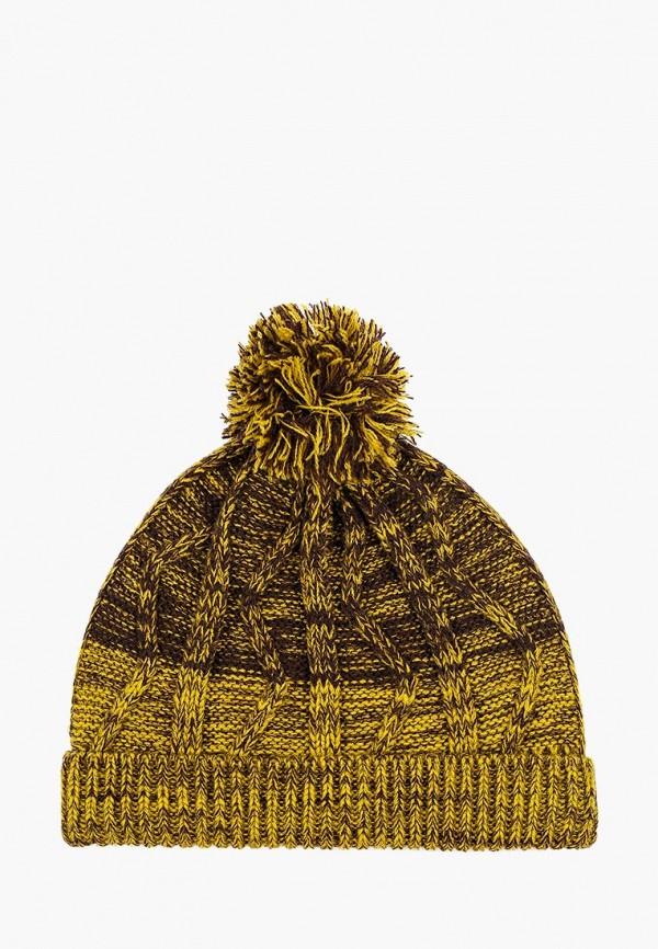 шапка sela для мальчика, желтая