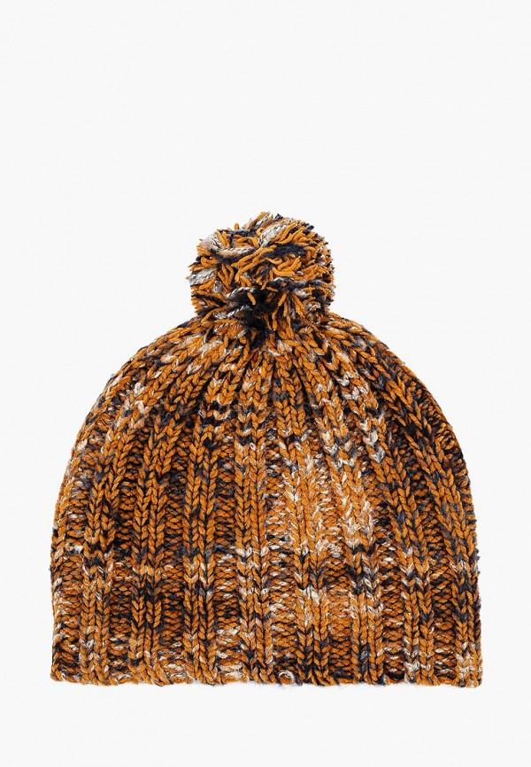 шапка sela для мальчика, коричневая