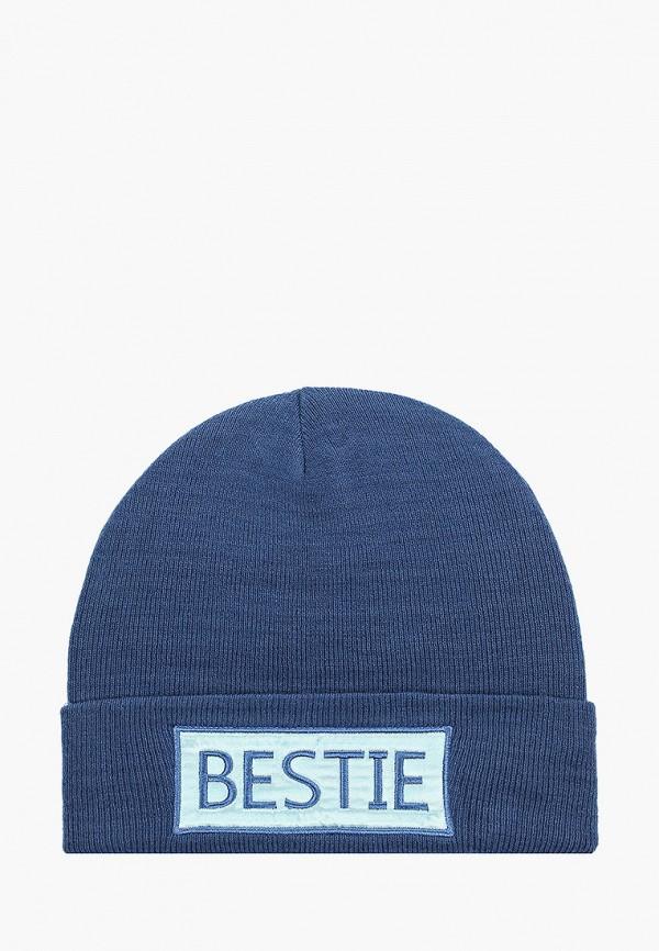 шапка sela для девочки, синяя
