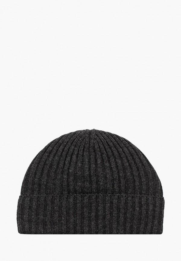 мужская шапка sela, серая
