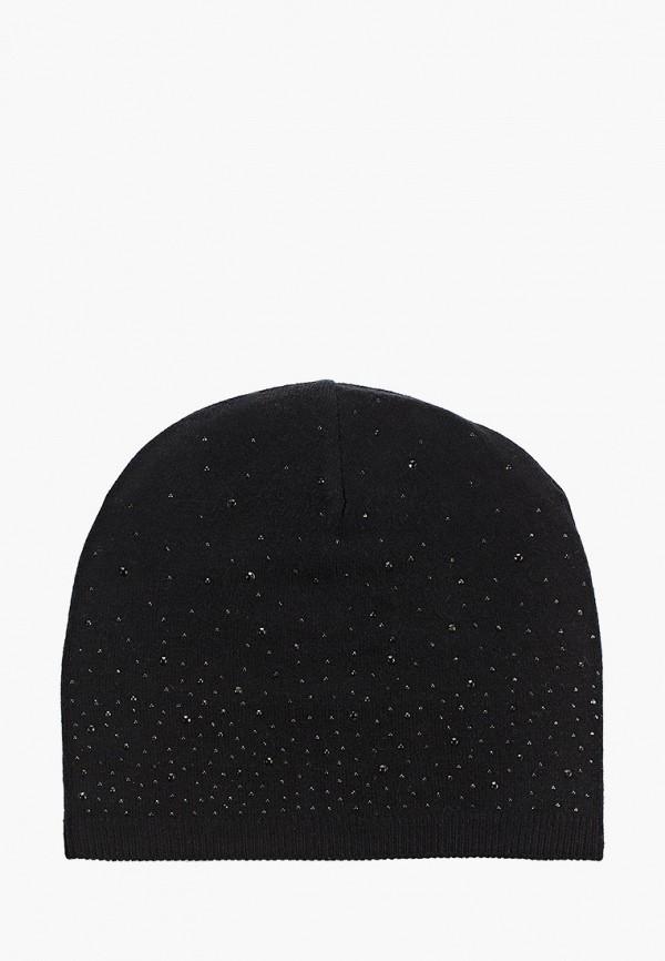 женская шапка sela, черная