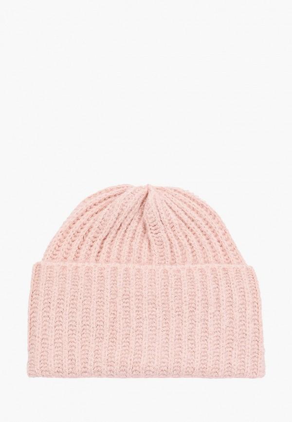 женская шапка sela, розовая