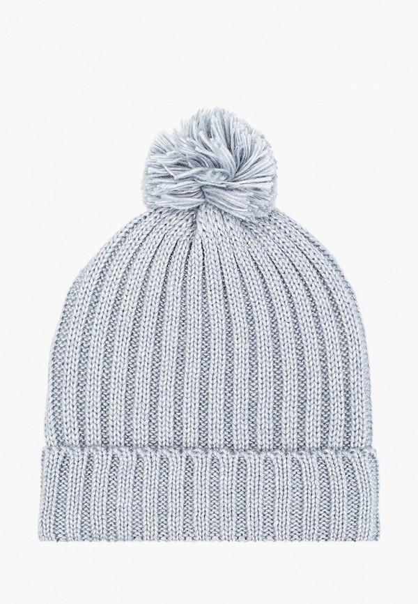 женская шапка sela, голубая