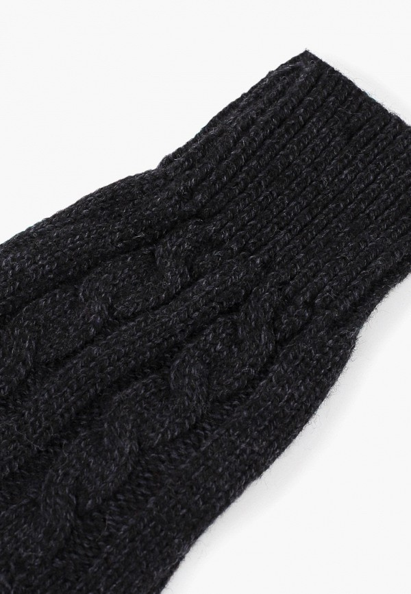 Фото 2 - Перчатки Sela черного цвета