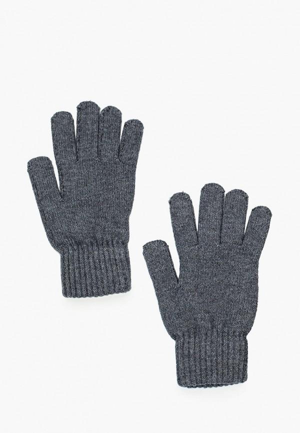 перчатки sela для мальчика, серые