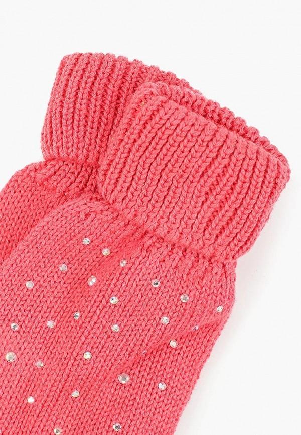 Фото 2 - Перчатки Sela розового цвета