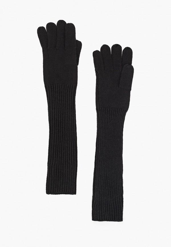 женские текстильные перчатки sela, черные