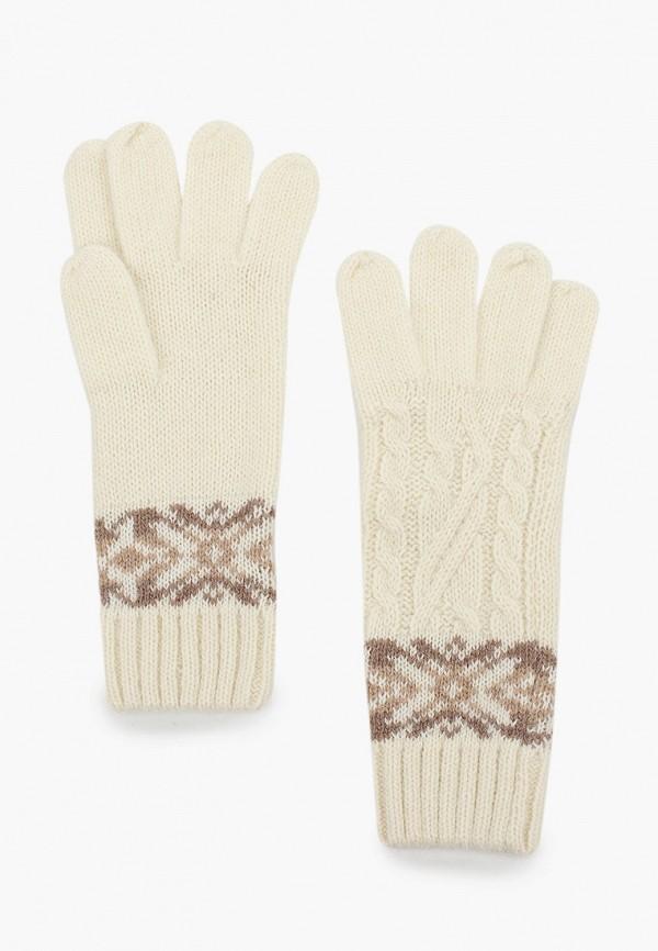 женские перчатки sela, белые