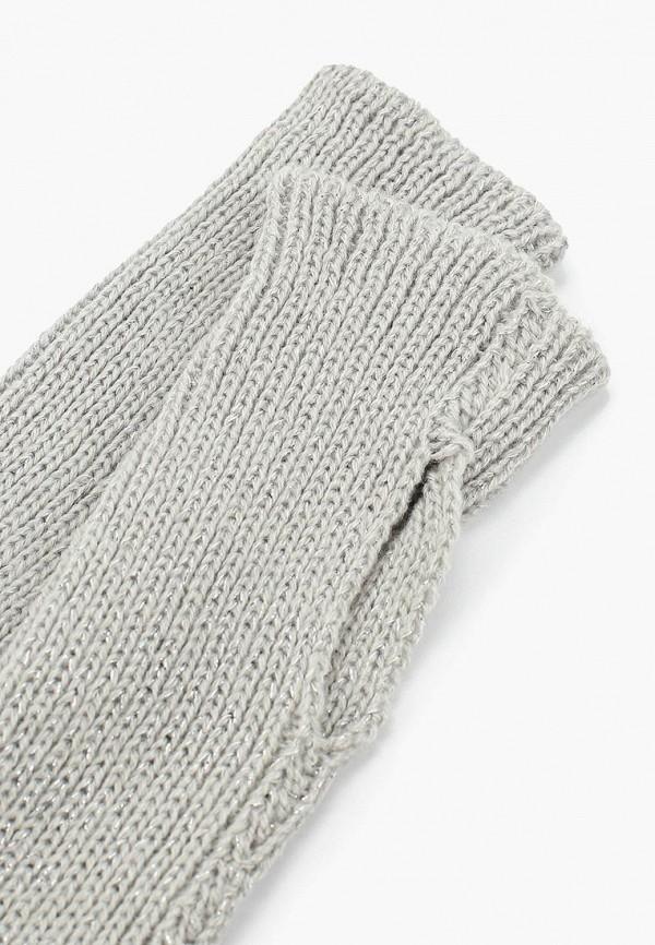 Фото 2 - женские текстильные перчатки Sela серого цвета
