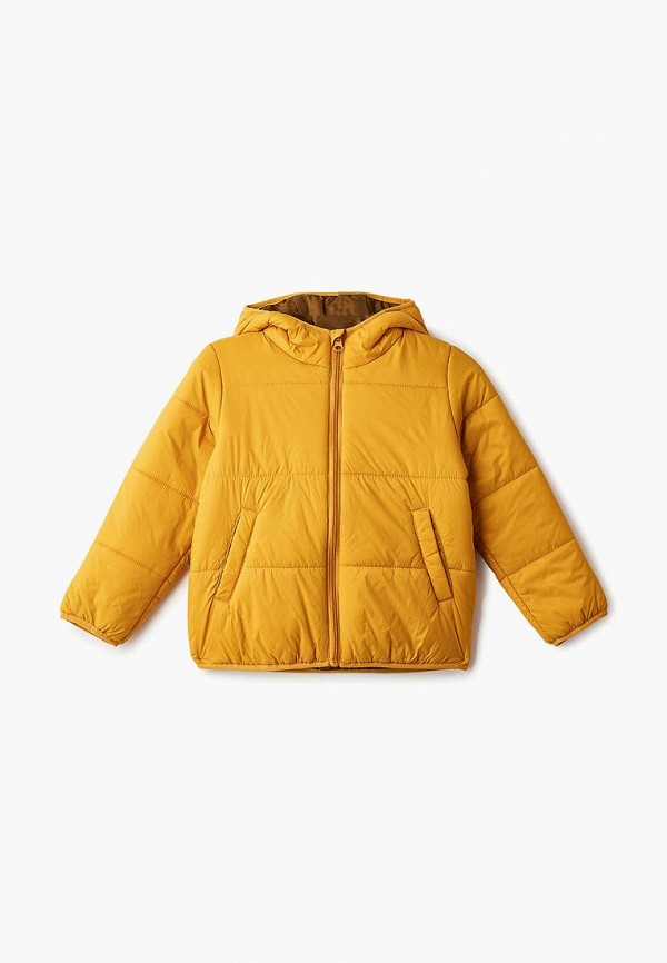 куртка sela для мальчика, желтая