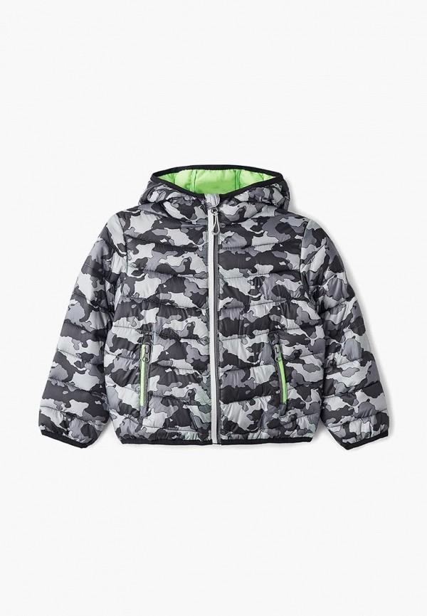 куртка sela для мальчика, серая