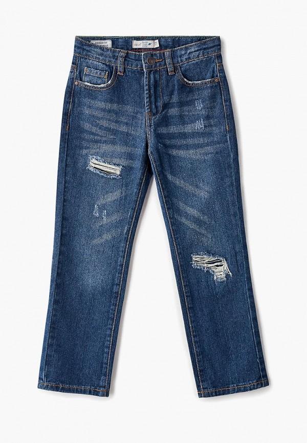 джинсы sela для мальчика, синие
