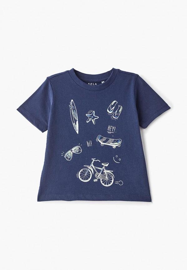 Футболка Sela Sela SE001EBDUQJ8 футболка женская sela цвет туманный синий ts 111 4334 9171 размер l 48