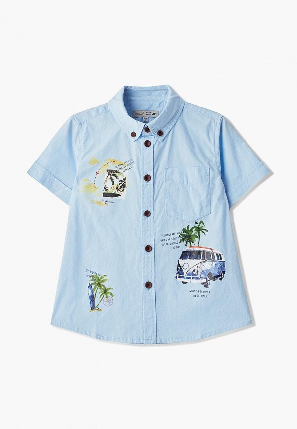 Рубашка Sela Sela SE001EBEZOD2 цена 2017