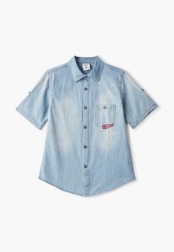 Рубашка джинсовая Sela Sela SE001EBFBOK3 рубашка sela sela se001ewznc36