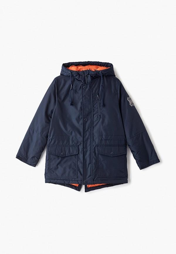 куртка sela для мальчика, синяя