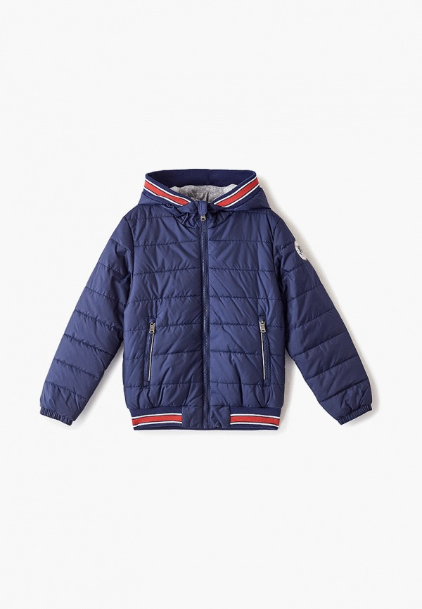Фото - Куртку утепленная Sela синего цвета
