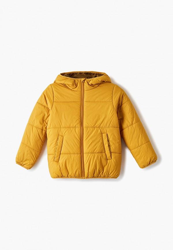 Фото - Куртку утепленная Sela желтого цвета