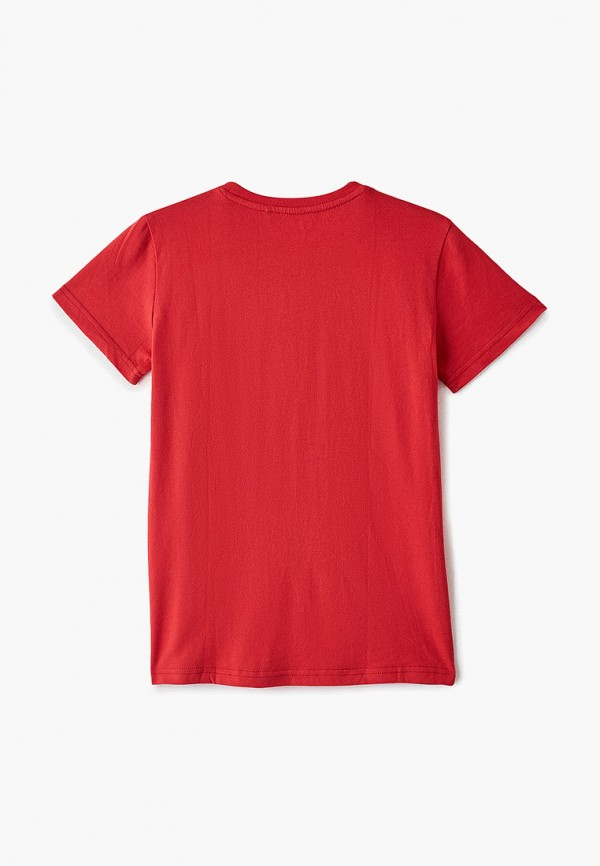 Фото 2 - Футболку Sela красного цвета