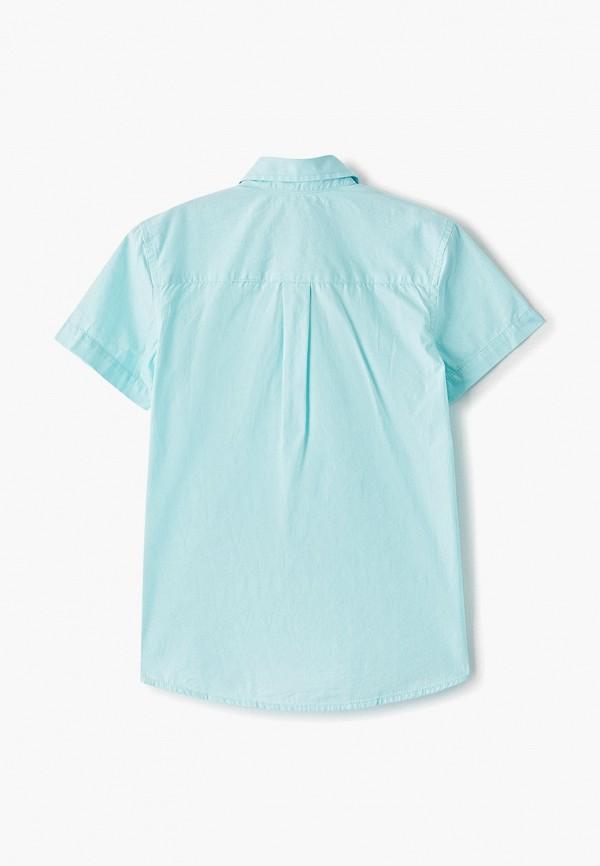Фото 2 - Рубашку Sela бирюзового цвета