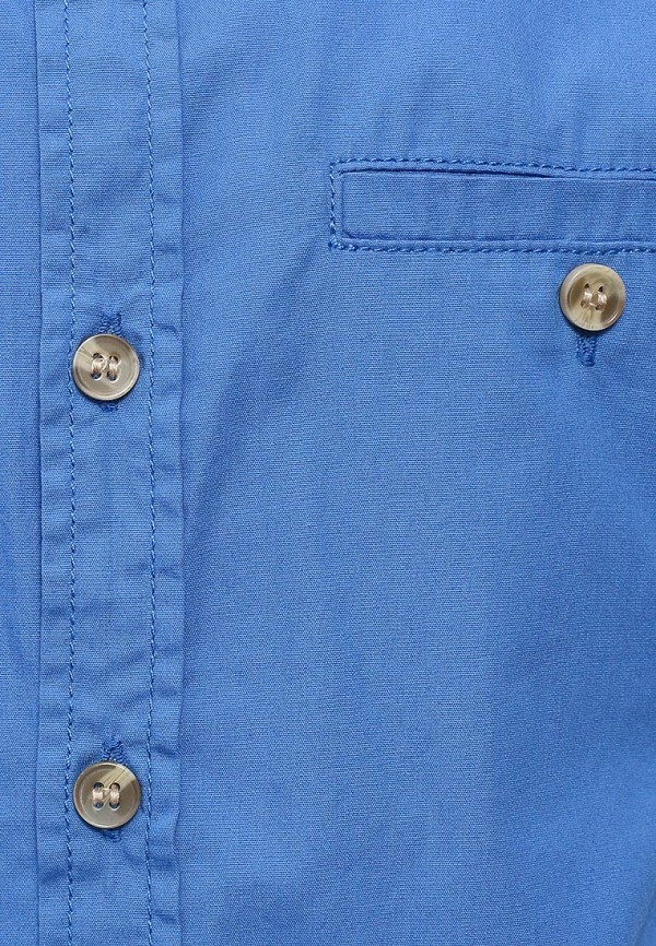 Фото 3 - Рубашку Sela синего цвета