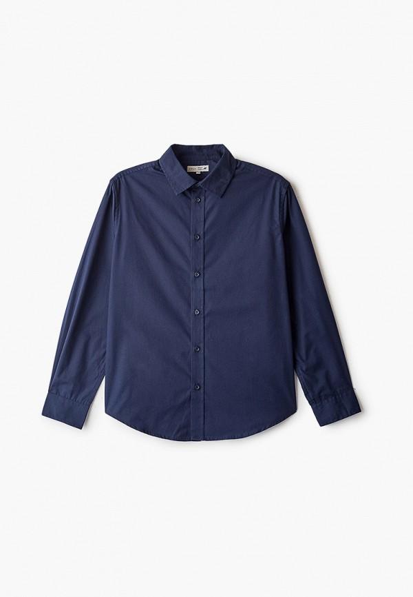 рубашка sela для мальчика, синяя