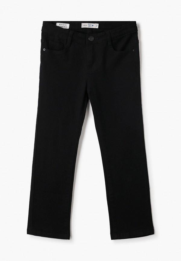джинсы sela для мальчика, черные
