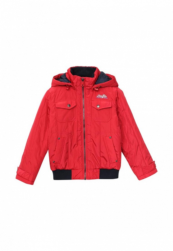 куртка sela для мальчика, красная