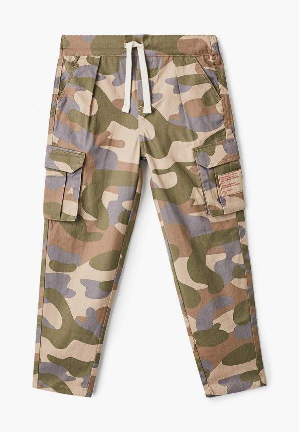 брюки sela для мальчика, разноцветные